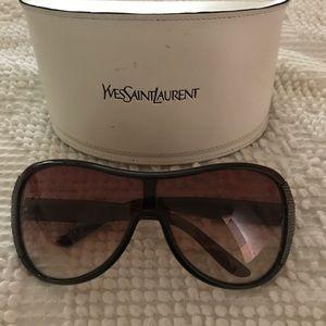 Authentic, Vintage, Saint Laurent sunglasses.